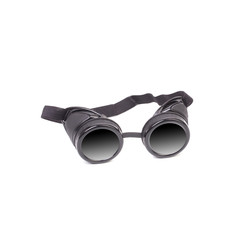Close up of welding glasses.