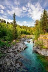 Piękny krajobraz Norweski