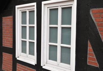 Fenster im Fachwerk
