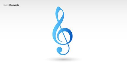 chiave di violino, note musicali, musica, pentagramma