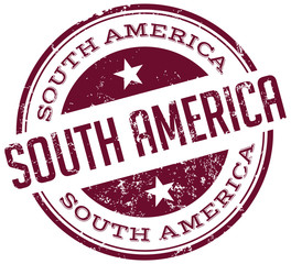 south america stamp