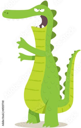 Naklejka crocodile