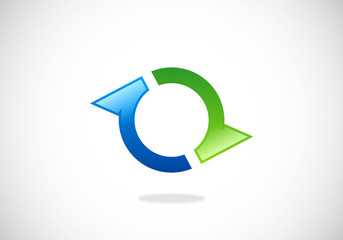 circle ring business vector logo