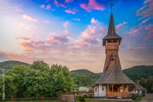 Church in Maramures - 69208705