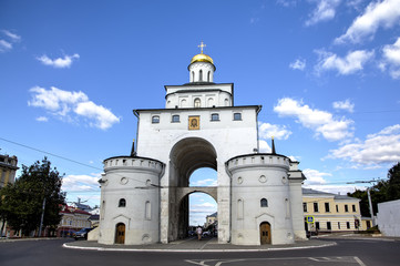 Golden Gates. Vladimir, Golden ring of Russia.
