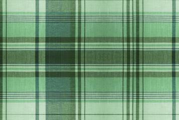 Tartan Green pattern - Plaid Clothing Table