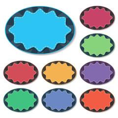 starburst badge