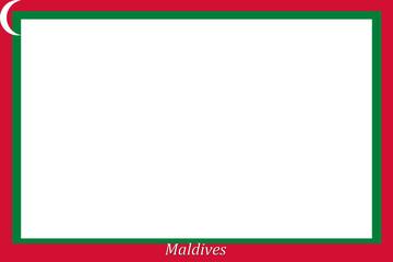 Rahmen Malediven