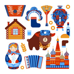 Russia travel set
