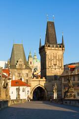 Gate tower of Charles bridge, Prague