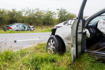 Verkehrsunfall - Zusammenstoß