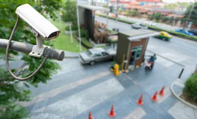 CCTV Camera Operating at gate