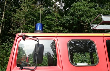 Feuerwehrauto Blaulicht
