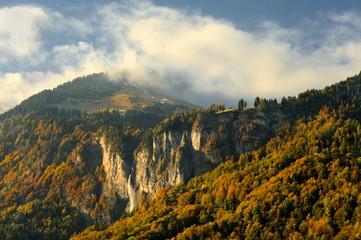 Krajobraz górski, Alpy, Szwajcaria