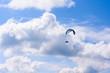 Leinwandbild Motiv Skydiver