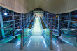 Metro station in Dubai Internet City, UAE. - 69217159