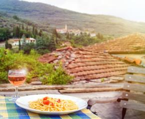 Spaghetti Aglio e Olio in Italien