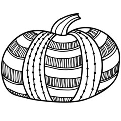 Vector Abstract Pumpkin 3.0