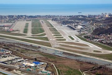 Adler airport, Sochi
