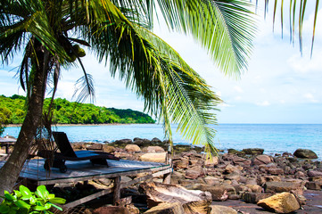 Beautiful tropical landscape on Koh Kood island, Thailand
