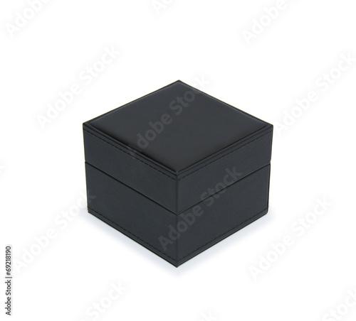 black gift box isolated on white - 69218190