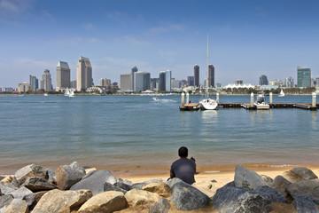 View of San Diego California.