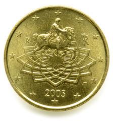 Marco Aurelio 50 centesimi di euro Italia