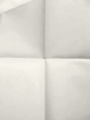 Old clean sheet of paper background folded four