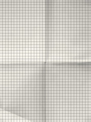 Old sheet of grid paper background