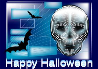 halloween in computer