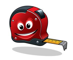 Cartoon measuring tape