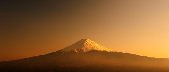 Fujisan , Mount Fuji at sunset