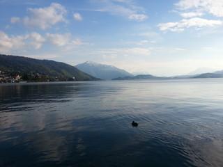 Beautiful Lake in Switzerland