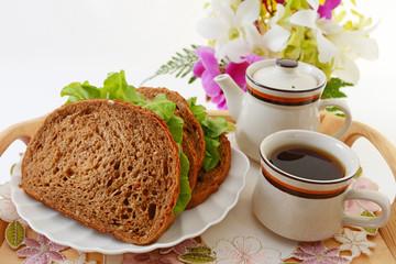 おいしそうなサンドイッチ