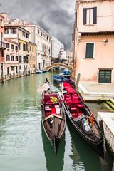 Twin gondolas