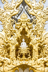 Image of buddha, Rong Khun temple, Thailand
