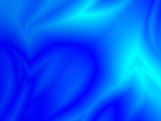 Abstract Blue Sky with Clouds Background