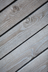 Close up of rustic wall from old wooden boards