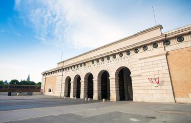 Auseres Burgtor Gate in Vienna