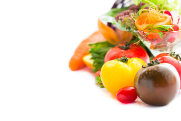Tomato and mix vegetable