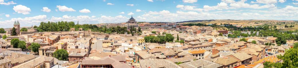 Panorama of Toledo Spain