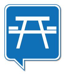 Logo table de pique nique.