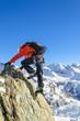 den Gipfel erreichen