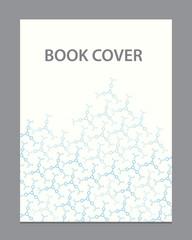 Vector  book flyer brochure cover template design