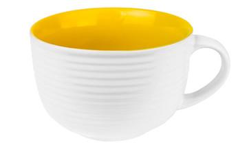 Empty soup cup