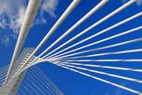 Abstract Detail Bridge In Podgorica, Montenegro poster