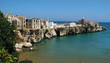 canvas print picture - Italy, Puglia, Vieste