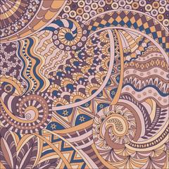 Ethnic background pattern