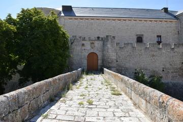 Castillo de Simancas (entrada lateral)