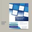 modern geometric style flyer template